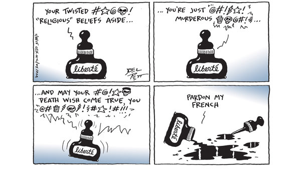 Joel Pett of the Lexington Herald-Leader