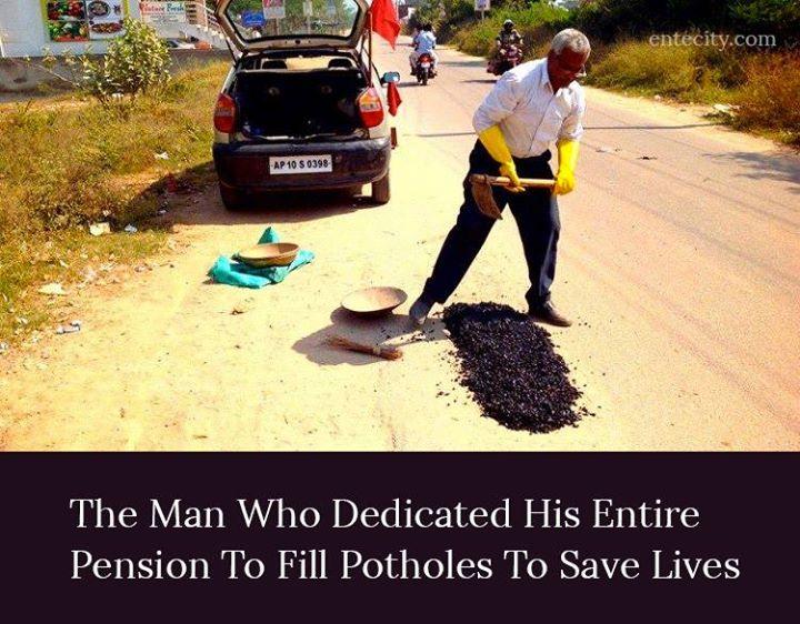 pothole man